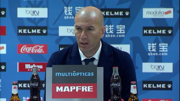 "Zidane: ""Genau so muss ein Team reagieren"""