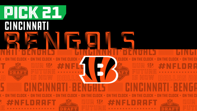 Cincinnati Bengals pick No. 21 | NFL Mock Draft Live