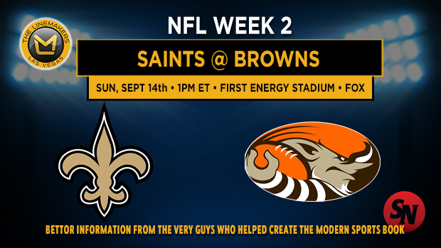 New Orleans Saints @ Cleveland Browns