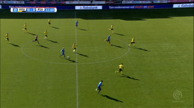 PSV Eindhoven fertig VVV nach Rückstand ab
