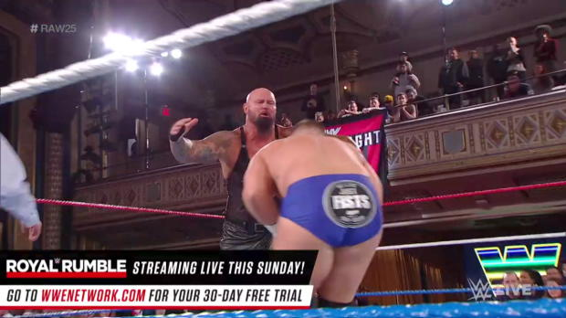 Luke Gallows & Karl Anderson vs. The Revival: Raw 25, Jan. 22, 2018