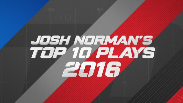 Josh Norman: Top 10 Plays of 2016