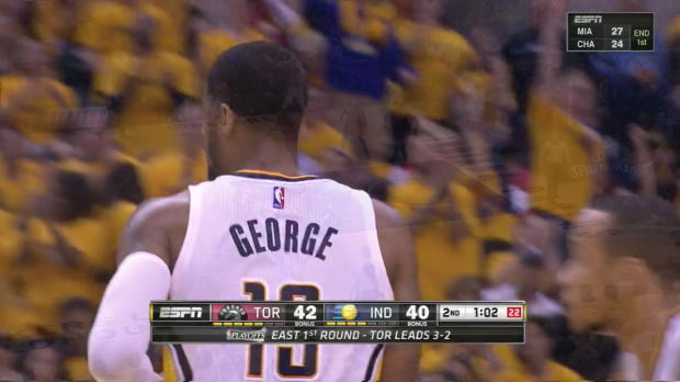 WSC: Paul George nets 21 points in win over the Raptors