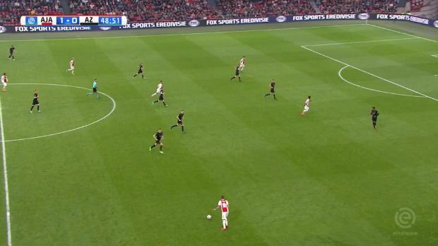 Kluivert-Junior mit Traumtor bei Ajax-Heimsieg