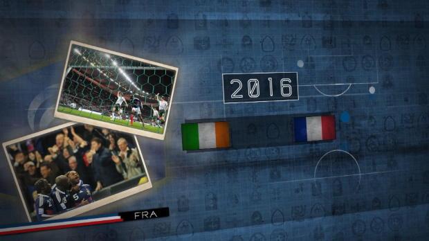 Fünf Fakten vor Frankreich gegen Irland