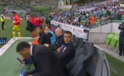 Melbourne City and Brisbane Roar played out a fiery 1-1 draw at AAMI Park on Saturday night.