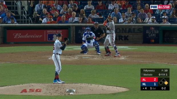 Kemp mic'd up in left field