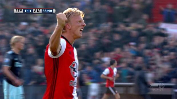 Kuyt Feyenoords Retter im Topspiel gegen Ajax