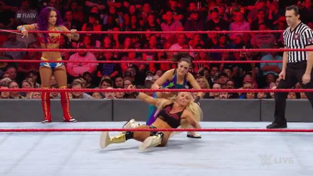 Sasha Banks & Bayley vs. Mandy Rose & Sonya Deville: Raw, March 19, 2018