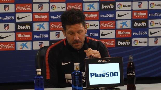 Flammender UEFA-Appell von gesperrtem Simeone