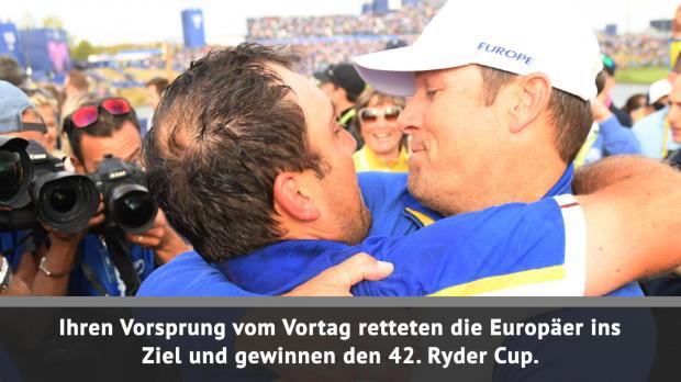 Molinari zum Sieg! Europa gewinnt Ryder-Cup