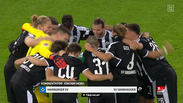 2. Bundesliga: Hamburger SV - SV Sandhausen | DAZN Highlights
