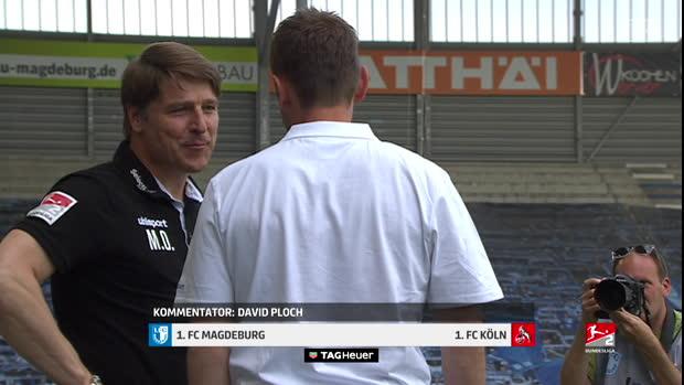 2. Bundesliga: 1. FC Magdeburg - 1. FC Köln   DAZN Highlights