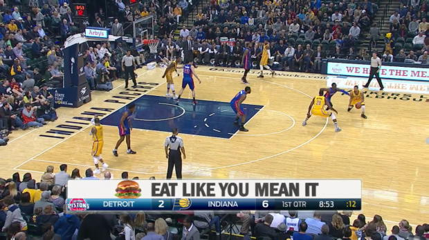 WSC: Paul George scores 30 points in win over the Pistons