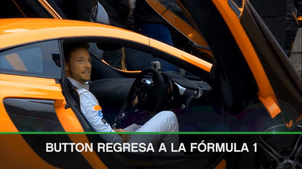 Button sustituirá a Alonso en Mónaco
