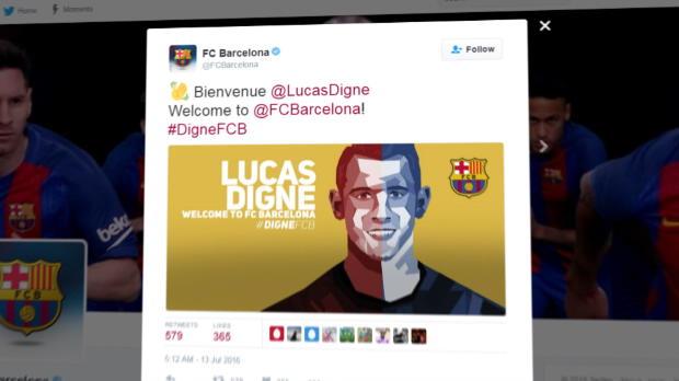 Kein Hector? Barcelona verpflichtet Franzosen