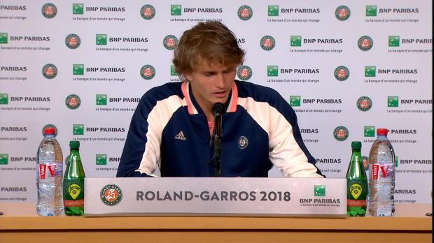 """French Open: Zverev: """"Auf keinen Fall aufgeben"""""""