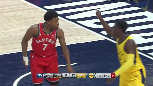WSC: Kyle Lowry (24 points) Game Highlights vs. Indiana Pacers