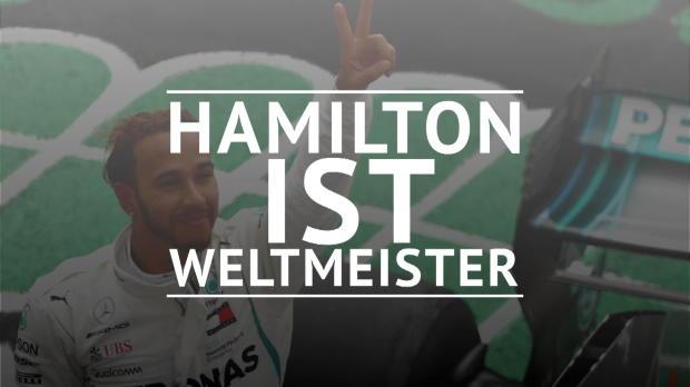 F1: Lewis Hamilton zum fünften Mal Weltmeister