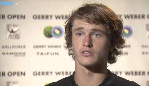 Zverev Interview: ATP Halle 1R