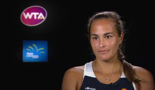 Puig Interview: WTA Sydney Final