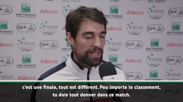 : Finale - Chardy - 'Un match difficile pour moi'