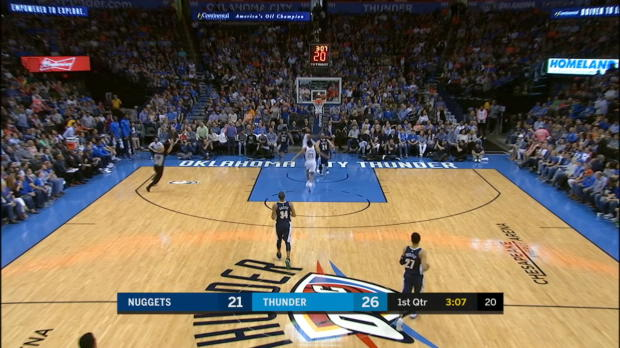 Assist of the Night: Steven Adams