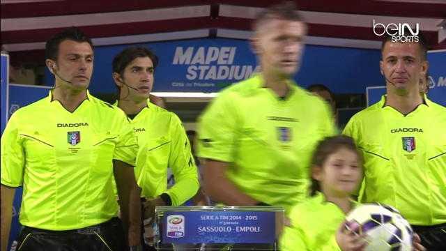 Serie A : Sassuolo 3-1 Empoli