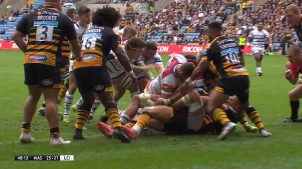 Aviva Premiership - Match Highlights - Wasps v Leicester Tigers - Round 3