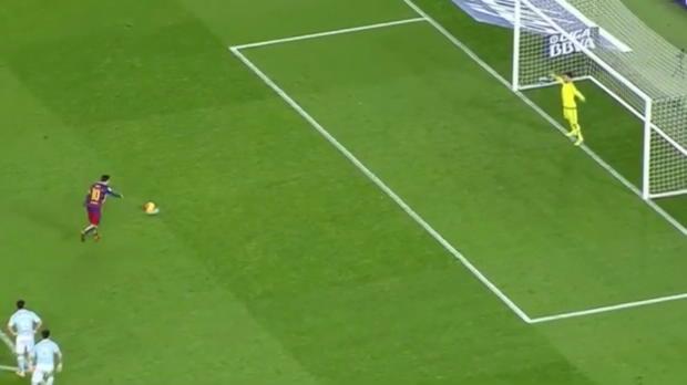 Elfmeter-Trick von Messi! Barca veräppelt Vigo