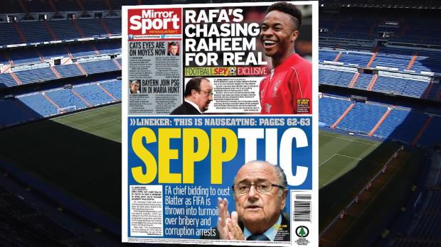 Raheem Sterling, en la agenda de Ben�tez para el Madrid