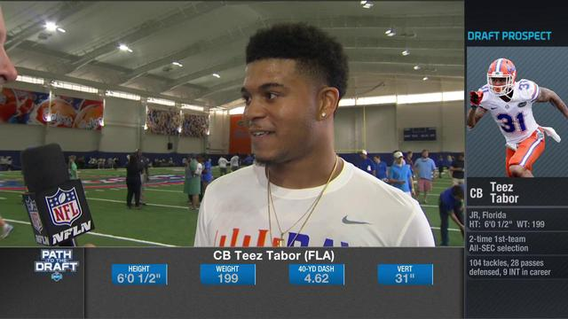 Florida cornerback Teez Tabor: No one should question my speed