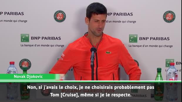 Basket : Roland-Garros - Djoko snobe Tom Cruise pour son biopic