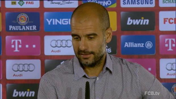 Pep Guardiola, l'entraineur du Bayern Munich, s'attend à un match difficile pour la reprise du championnat face à Wolfsburg vendredi. Un adversaire qui est