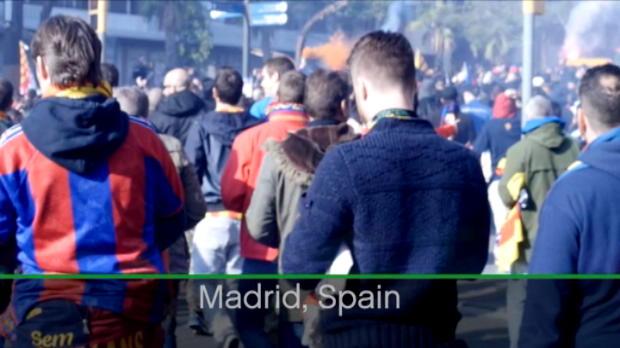 كرة قدم: الدوري الإسباني: العالم تابع الكلاسيكو بشغف