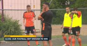 Roar boss John Aloisi says his side need to be 'up for the battle' when they travel to tackle the in-form Phoenix.