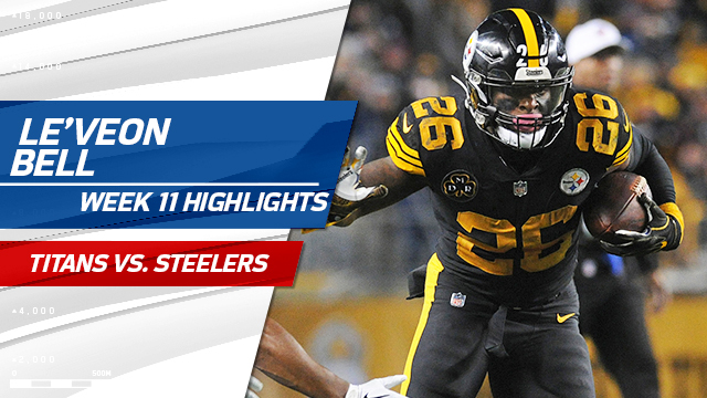 Le'Veon Bell highlights | Week 11