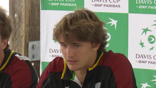 """Davis Cup: Zverev lobt """"Legende"""" Becker"""