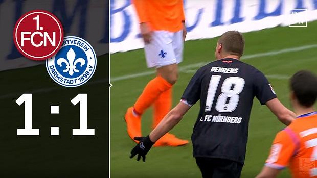 1. FC Nürnberg - SV Darmstadt 98