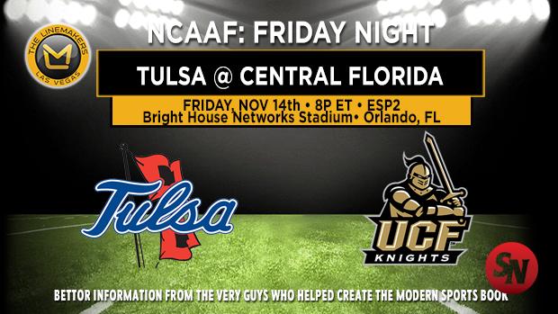 Tulsa Golden Hurricane @ Central Florida Knights
