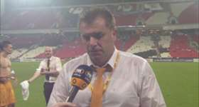 Caltex Socceroos coach Ange Postecoglou hailed the performance of his side following the 1-0 win over UAE in sweltering conditions.