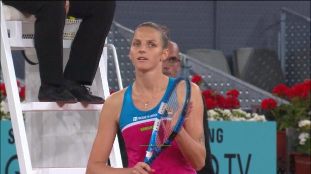 : Madrid - Pliskova remporte le duel contre Azarenka