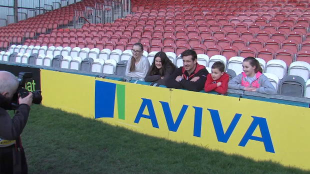 Aviva Premiership - Gloucester?s Dan Murphy on Gloucestershire Young Carers & the Aviva Community Fund