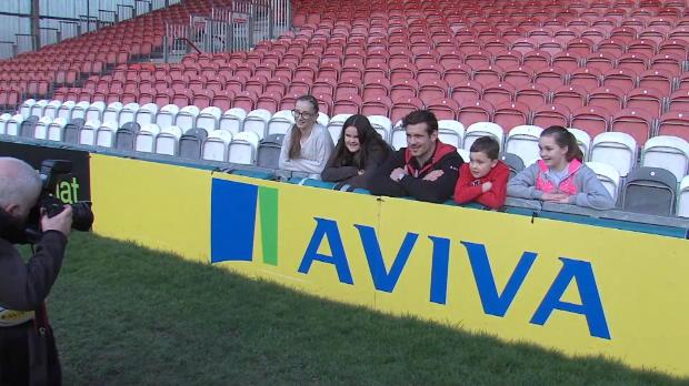 Aviva Premiership - Gloucester?s Dan Murphy on Gloucestershire Young Carers & the Aviva Community Fund
