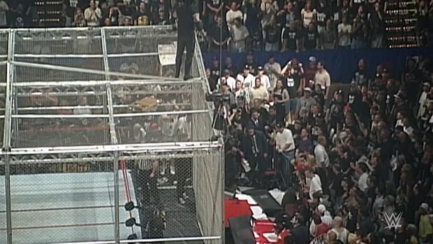 Undertaker and Mick Foley relive their infamous Hell in a Cell Match