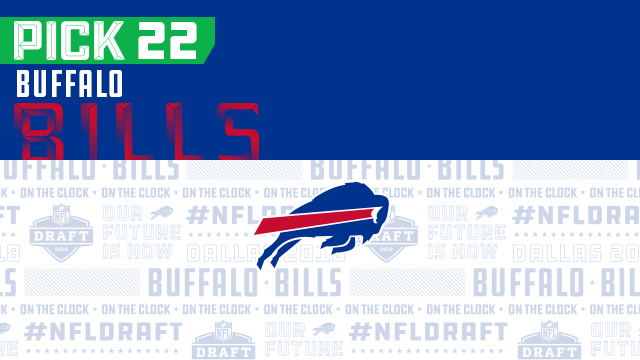 Bills pick No. 22 | NFL Mock Draft Live