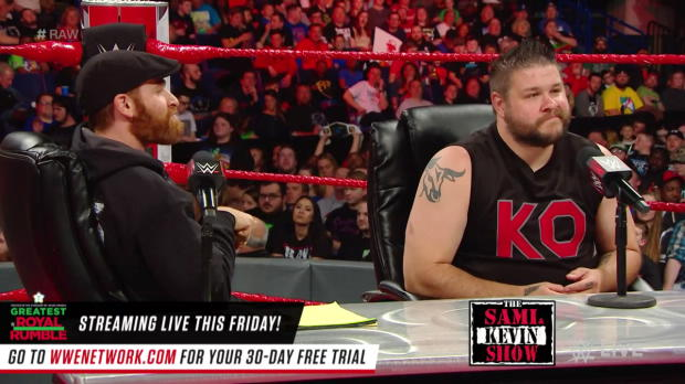 """The Sami & Kevin Show"" premieres: Raw, April 23, 2018"