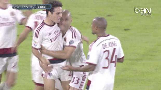 AC Milan : Le lob de folie de Bonaventura