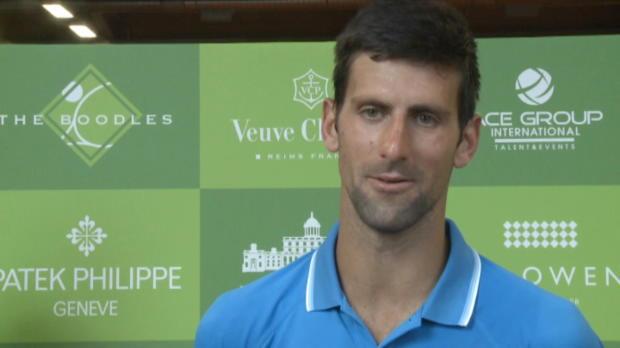 """Wimbledon: Djoker: """"Schwierigste erste Runde"""""""