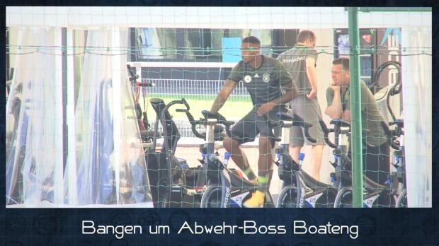 EM in 60 Sekunden: Bangen um Boss Boateng